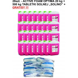 28szt. Active Foam Optima 20 kg  + 500 kg SOLINO